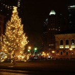 Downtown Boston – Christmas Tree